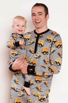 Munki Munki Men's Construction Jogger Pajama Set