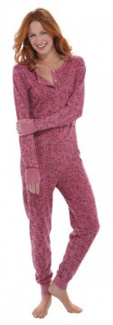 Munki Munki Sock Monkey Vintage Washed Thermal Union Suit