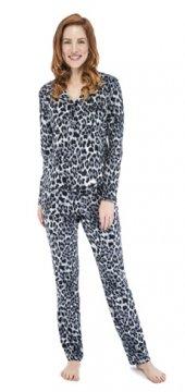 Munki Signature Lux Leo Sanded Jersey Classic Pajama Set