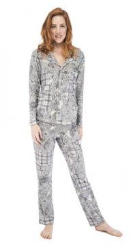 Munki Signature Paisley Plaid Vintage Jersey Classic Pajama Set