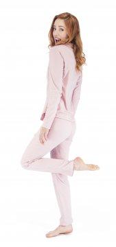 Munki Signature Petal Pink Sanded Jersey Classic Pajama Set