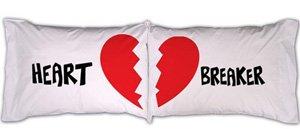 """""""Heart Breaker"""" Pillowcase Set"""
