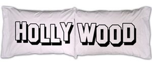"""Hollywood"" Pillowcase Set"