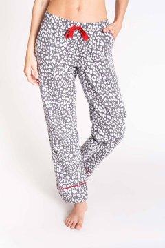 PJ Salvage Chelsea Grey Flannel Pajama Pant