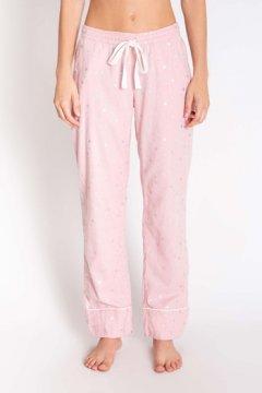 PJ Salvage Chelsea Rose Quartz Flannel Pajama Pant