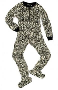 PJ Salvage Leopard Women's Footsie