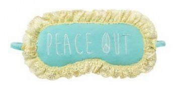 "PJ Salvage ""Peace Out"" Eye Mask"