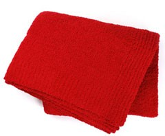 Kashwere Soft Red Throw