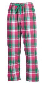 Boxercraft Watermelon Twist Plaid Unisex Flannel Pajama Pant