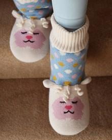 """Aroma Home Knitted """"Lamb"""" Slipper Sock"""