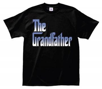 "LA Imprints ""The Grandfather"" T-Shirt in Black"