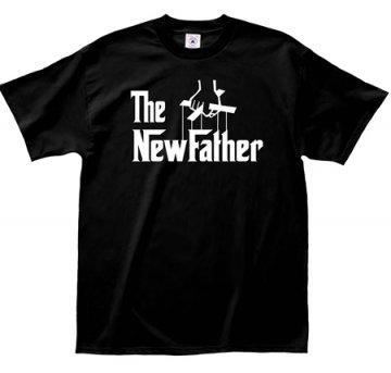 "LA Imprints ""The NewFather"" T-Shirt in Black"