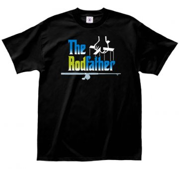 "LA Imprints ""The Rodfather"" T-Shirt in Black"