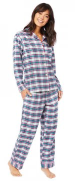 The Cat's Pajamas Women's Brooklawn Flannel Pajama Set