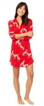 The Cat's Pajamas Women's El Tigre Pima Knit Nightshirt