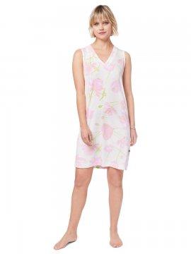 The Cat's Pajamas Women's Emma Rose Pima Knit Nightgown