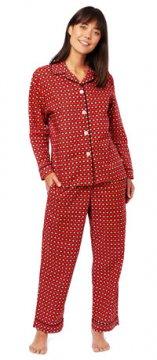 The Cat's Pajamas Women's Hadley Luxe Pima Cotton Pajama Set
