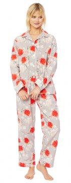 The Cat's Pajamas Women's Kiku Luxe Pima Pajama Set