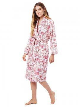 The Cat's Pajamas Women's Maisie Pima Flannel Robe