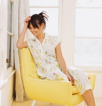 The Cat's Pajamas Women's Aloha Luxe Pima Cotton Capri Pajama Set