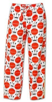The Cat's Pajamas Men's BBQ Cotton Pajama Pant