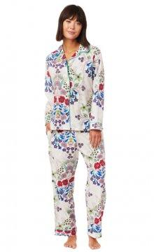 The Cat's Pajamas Women's Blossom Luxe Pima Classic Pajama Set