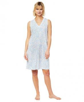 The Cat's Pajamas Women's Confetti Dot Pima Knit Nightgown