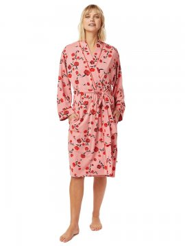 The Cat's Pajamas Women's Daphne Pima Knit Robe