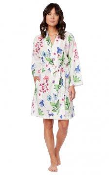 The Cat's Pajamas Women's Deerly Luxe Pima Robe