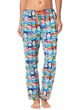 The Cat's Pajamas Women's Frida Cotton Poplin Pajama Pant