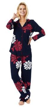 The Cat's Pajamas Women's Isabelle Pima Knit Classic Pajama Set