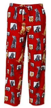 The Cat's Pajamas Men's Labrador Cotton Pajama Pant