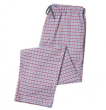 The Cat's Pajamas Men's Newport Check Flannel Pajama Pant