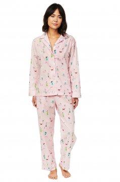 The Cat's Pajamas Women's Promenade Luxe Pima Classic Pajama Set
