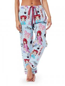 The Cat's Pajamas Women's Tokyo Pop Cotton Poplin Pajama Pant