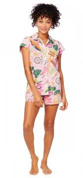 The Cat's Pajamas Women's Vespa Luxe Pima Short Set