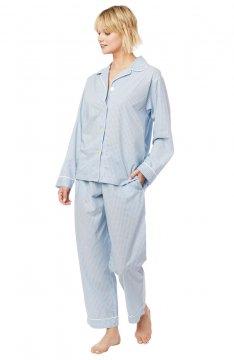 The Cat's Pajamas Women's Xs and Os Luxe Pima Classic Pajama Set
