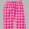 Boxercraft Bubblegum Pink Plaid Unisex Flannel Pajama Pant