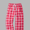 Boxercraft Cardinal Red Plaid Unisex Flannel Pajama Pant