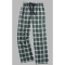 Boxercraft Green and White Plaid Unisex Flannel Pajama Pant