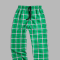 Boxercraft Kelly Green Plaid Unisex Flannel Pajama Pant