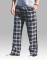 Boxercraft Men's Black and White Classic Plaid Flannel Pajama Pant