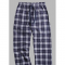 Boxercraft Navy and Silver Plaid Unisex Flannel Pajama Pant