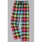 Boxercraft Neon Buffalo Plaid Unisex Flannel Pajama Pant