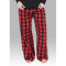 Boxercraft Red Buffalo Plaid Unisex Flannel Pajama Pant