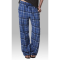 Boxercraft Royal Sparkle Unisex Plaid Flannel Pajama Pant