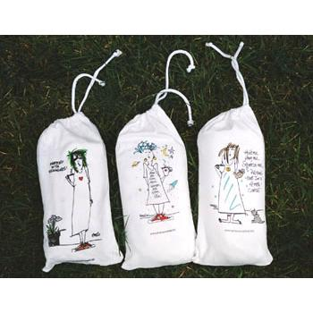 "Emerson Street ""I'll Drink No Wine Until It's in My Glass!"" Nightshirt in a Bag"