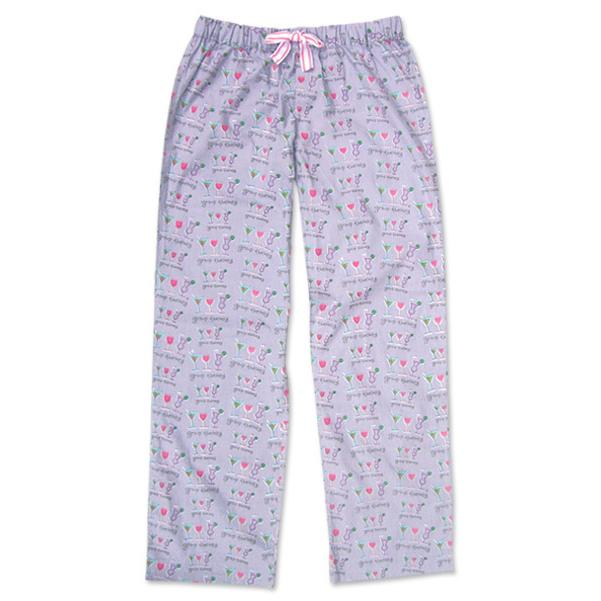 "Be As You Are ""Group Therapy"" Gray Women's Pajama Pant"