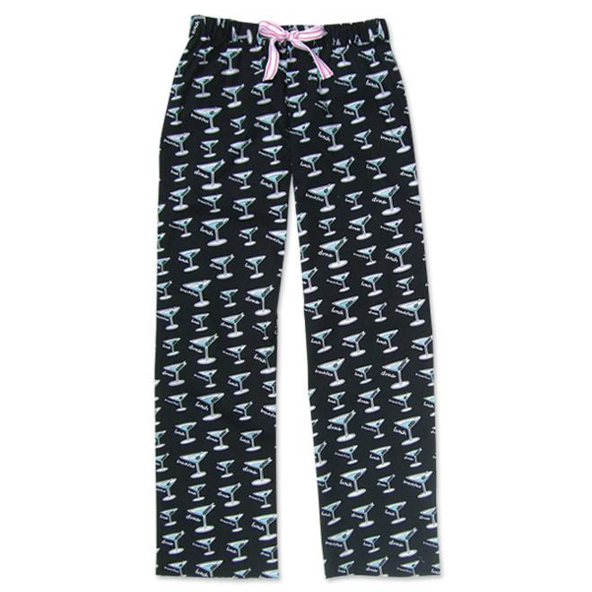 "Be As You Are ""Breakfast, Lunch & Dinner"" Women's Black Sleep Pant"