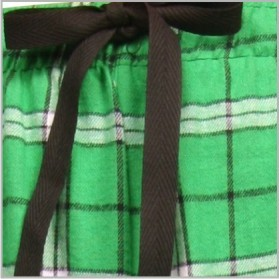 Boxercraft Kelly Green Plaid Flannel Pajama Pant